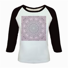 Pink Mandala art  Kids Baseball Jerseys