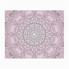 Pink Mandala art  Small Glasses Cloth