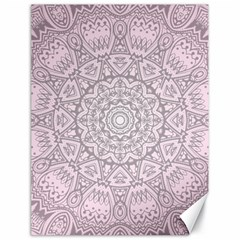 Pink Mandala art  Canvas 18  x 24
