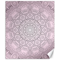 Pink Mandala art  Canvas 20  x 24