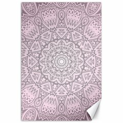 Pink Mandala art  Canvas 20  x 30