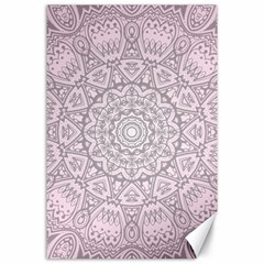 Pink Mandala art  Canvas 24  x 36