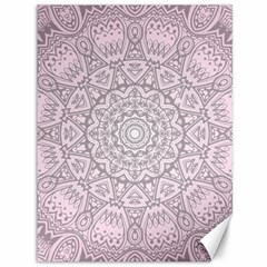 Pink Mandala art  Canvas 36  x 48