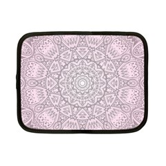 Pink Mandala art  Netbook Case (Small)