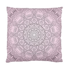 Pink Mandala art  Standard Cushion Case (Two Sides)