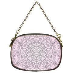 Pink Mandala art  Chain Purses (Two Sides)