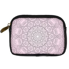 Pink Mandala art  Digital Camera Cases