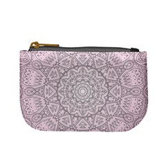 Pink Mandala art  Mini Coin Purses