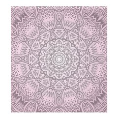 Pink Mandala art  Shower Curtain 66  x 72  (Large)