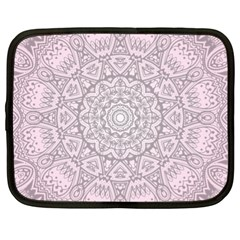 Pink Mandala art  Netbook Case (XL)