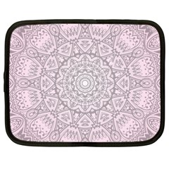 Pink Mandala art  Netbook Case (XXL)