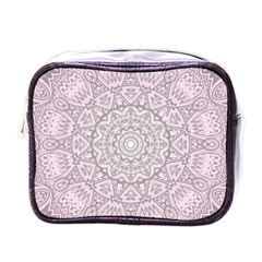 Pink Mandala art  Mini Toiletries Bags
