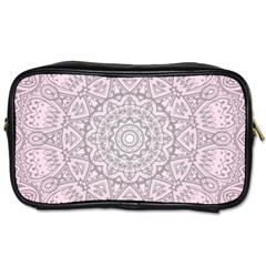Pink Mandala art  Toiletries Bags 2-Side