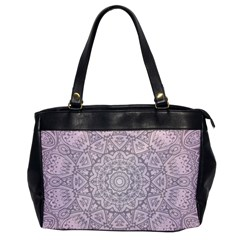 Pink Mandala art  Office Handbags