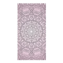 Pink Mandala art  Shower Curtain 36  x 72  (Stall)