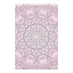 Pink Mandala art  Shower Curtain 48  x 72  (Small)