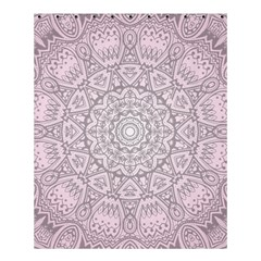 Pink Mandala art  Shower Curtain 60  x 72  (Medium)