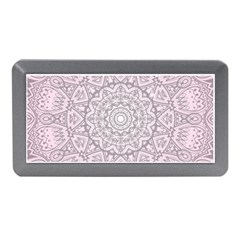 Pink Mandala art  Memory Card Reader (Mini)