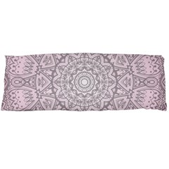 Pink Mandala art  Body Pillow Case Dakimakura (Two Sides)