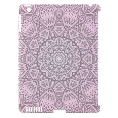 Pink Mandala art  Apple iPad 3/4 Hardshell Case (Compatible with Smart Cover)