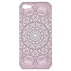 Pink Mandala art  Apple iPhone 5 Hardshell Case