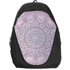 Pink Mandala art  Backpack Bag