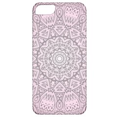 Pink Mandala art  Apple iPhone 5 Classic Hardshell Case