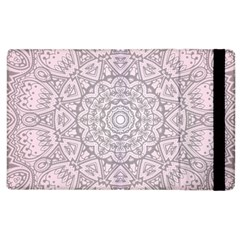 Pink Mandala art  Apple iPad 2 Flip Case
