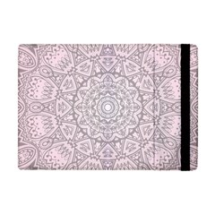 Pink Mandala art  Apple iPad Mini Flip Case