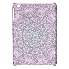 Pink Mandala art  Apple iPad Mini Hardshell Case