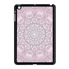 Pink Mandala art  Apple iPad Mini Case (Black)