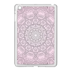 Pink Mandala art  Apple iPad Mini Case (White)