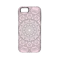 Pink Mandala art  Apple iPhone 5 Classic Hardshell Case (PC+Silicone)