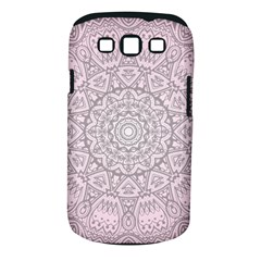 Pink Mandala Art  Samsung Galaxy S Iii Classic Hardshell Case (pc+silicone) by paulaoliveiradesign