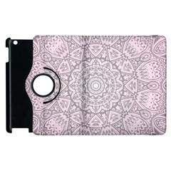 Pink Mandala art  Apple iPad 3/4 Flip 360 Case
