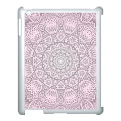 Pink Mandala art  Apple iPad 3/4 Case (White)