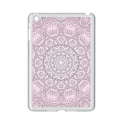Pink Mandala art  iPad Mini 2 Enamel Coated Cases