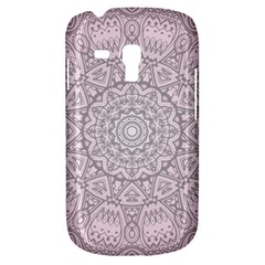 Pink Mandala Art  Galaxy S3 Mini by paulaoliveiradesign
