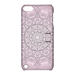 Pink Mandala art  Apple iPod Touch 5 Hardshell Case with Stand