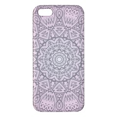 Pink Mandala art  Apple iPhone 5 Premium Hardshell Case