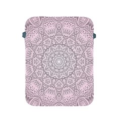 Pink Mandala art  Apple iPad 2/3/4 Protective Soft Cases