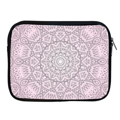 Pink Mandala art  Apple iPad 2/3/4 Zipper Cases