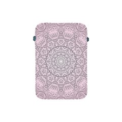 Pink Mandala art  Apple iPad Mini Protective Soft Cases