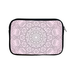 Pink Mandala art  Apple iPad Mini Zipper Cases