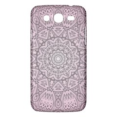 Pink Mandala Art  Samsung Galaxy Mega 5 8 I9152 Hardshell Case  by paulaoliveiradesign