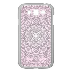 Pink Mandala art  Samsung Galaxy Grand DUOS I9082 Case (White)