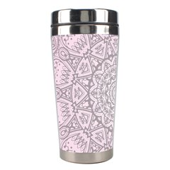 Pink Mandala art  Stainless Steel Travel Tumblers