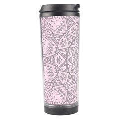 Pink Mandala art  Travel Tumbler