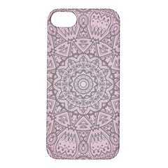 Pink Mandala art  Apple iPhone 5S/ SE Hardshell Case
