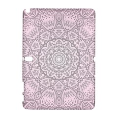 Pink Mandala Art  Galaxy Note 1 by paulaoliveiradesign